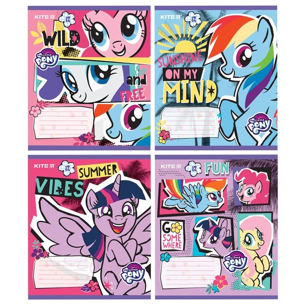 Тетрадь школьная Kite My Little Pony 12 л LP19-232