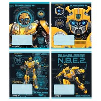 Фото Тетрадь школьная Kite Transformers BumbleBee 12 л TF19-232