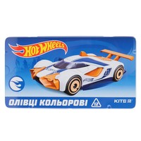 Фото Карандаши Kite Hot Wheels 12 цветов HW19-058